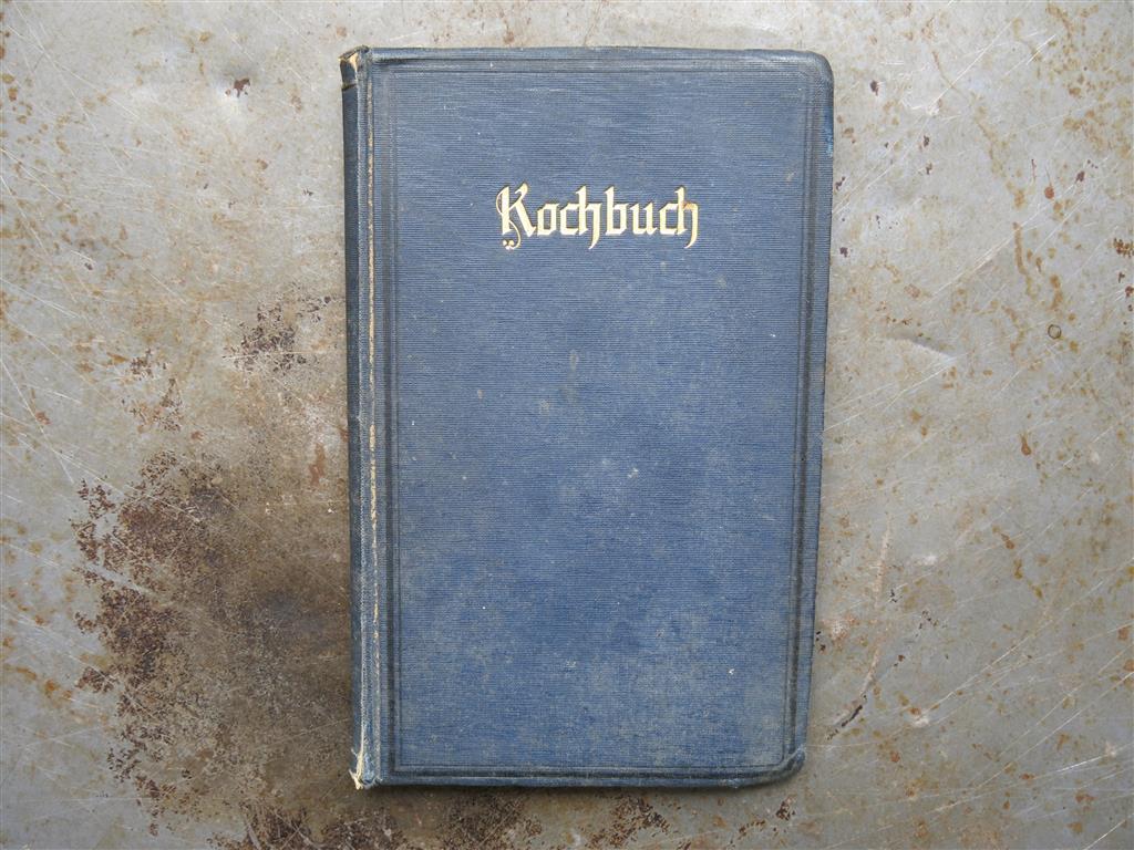 Eins der handschriftlichen Kochbücher meiner Großmutter