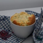 Endlich wieder Reste: Käsesoufflé