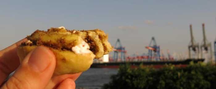 Perfekt fürs Picknick: Hefeschnecken mit Sa'tar