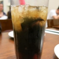 Green Tea Water Grass Jelly Drink Chinatown London