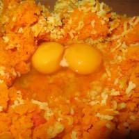 Kuerbis Kartoffeln Ei