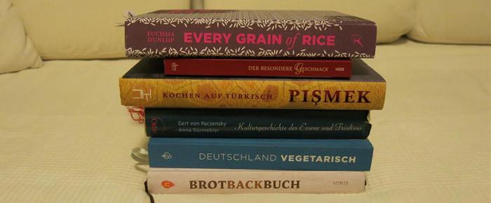 Zum Auftakt der Buchwoche: Ein Kochbuchstöckchen