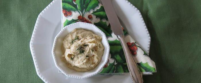 Brotaufstrich des Monats Dezember: Weiße-Bohnen-Paste mit Thymian und Orange