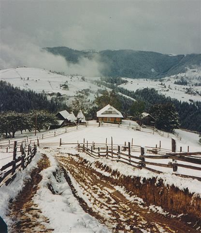 Huzulisches Holzhaus