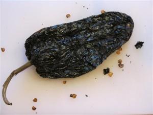 Ancho-Chilischote