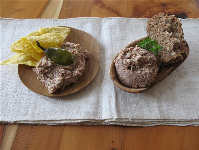 Bohnen-Räuchertofu-Creme