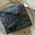 Schwarzer Sesamkuchen nach Surdham Göb