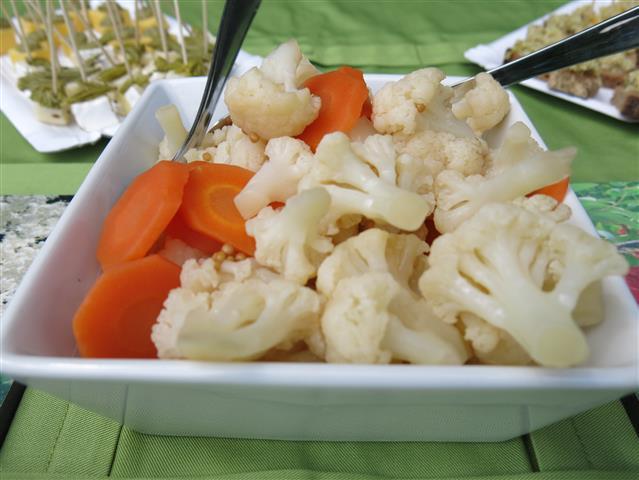 Blumenkohl-Möhren-Pickles