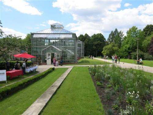 Gewächshaus im Botanischen Volkspark Pankow