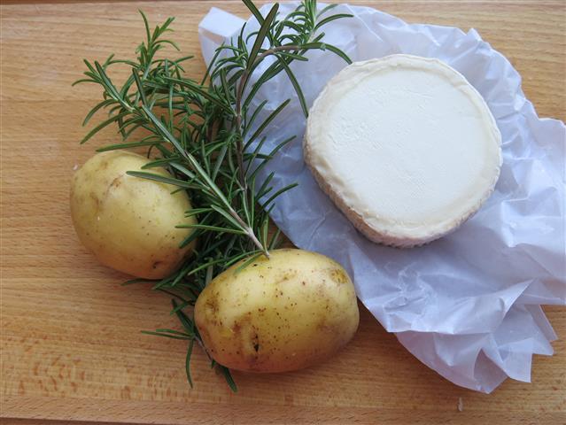 Kartoffeln Ziegenkäse Rosmarin