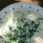 Heiße Zeit für kalte Suppen: Okroschka
