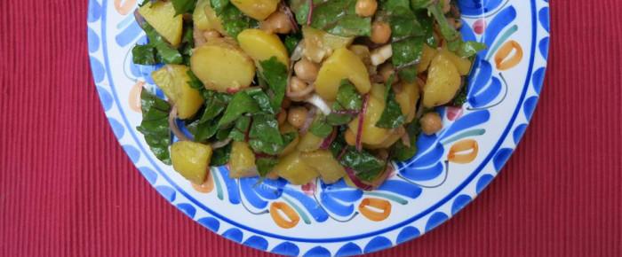 Orientalischer Kartoffelsalat