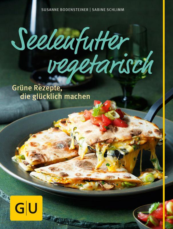 Cover des Buches Seelenfutter vegetarisch