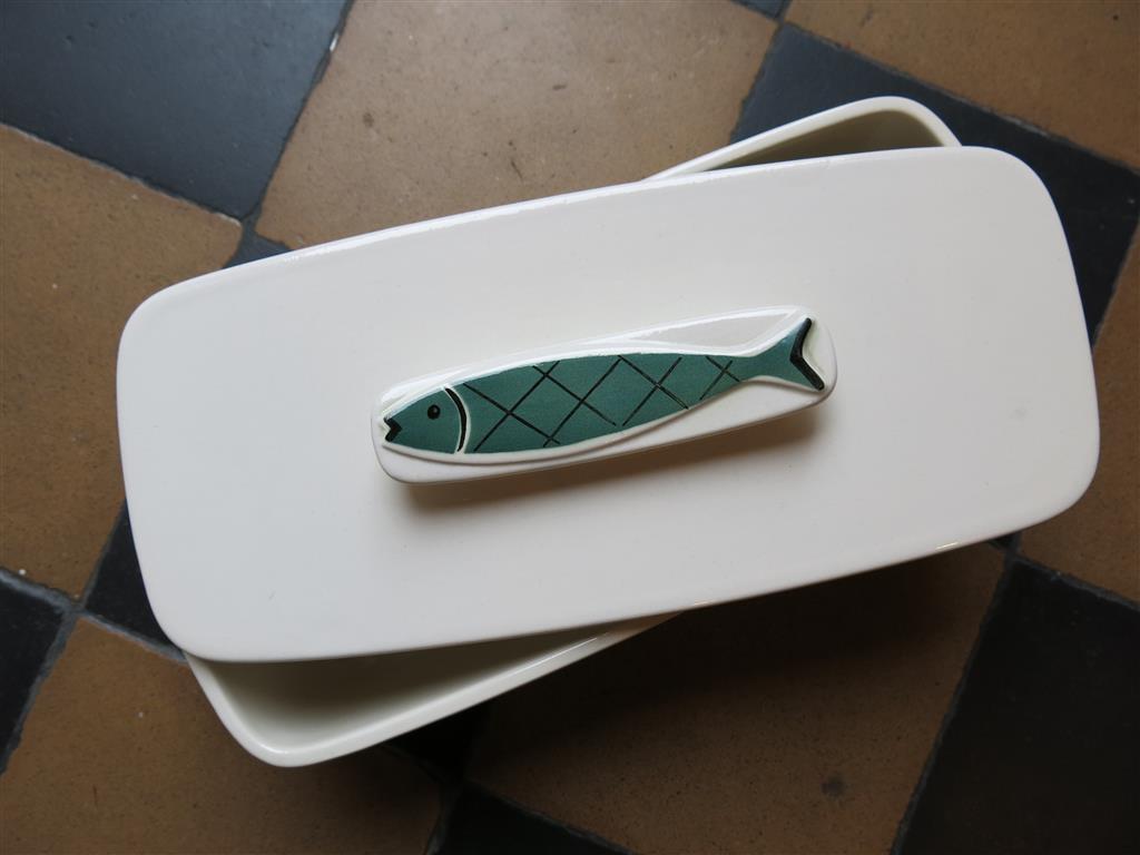 Keramikform für Bratheringe