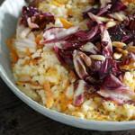 <em>Seelenfutter vegetarisch</em> und Möhren-Orangen-Risotto