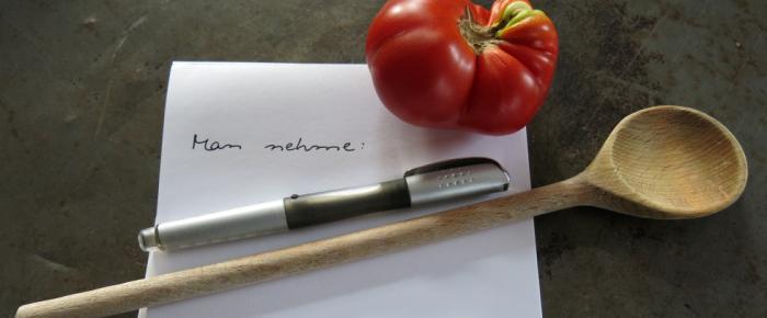 Rezepte schreiben: Eine Anleitung in 10 Geboten