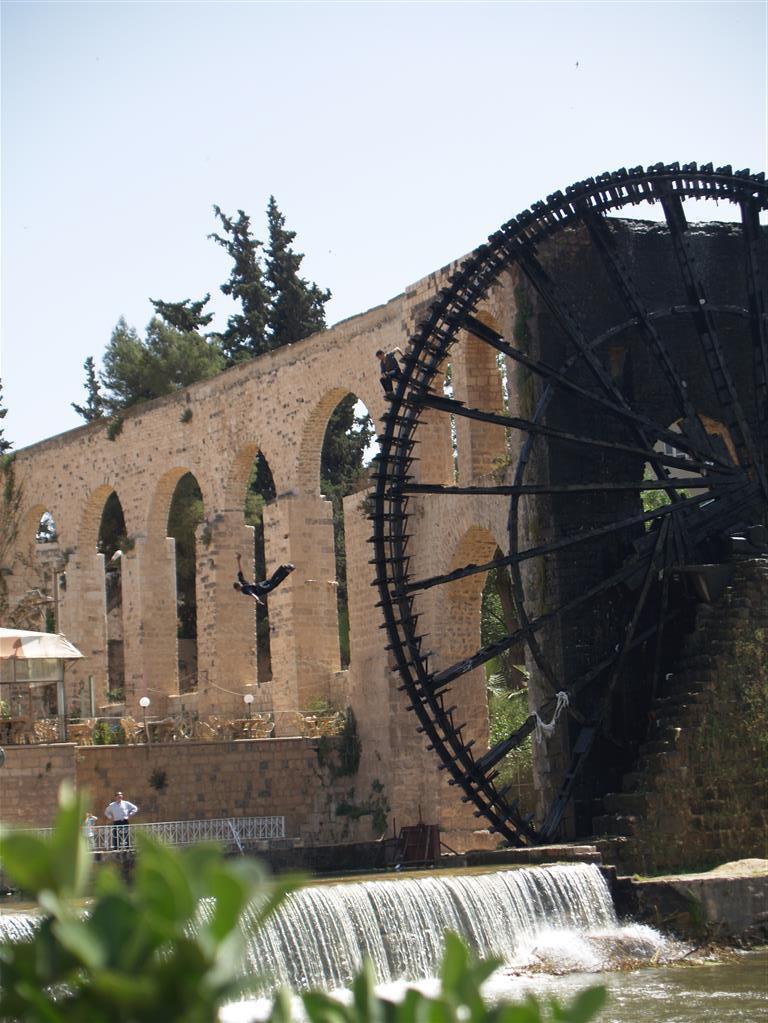 Wasserrad in Hama