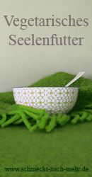 Banner Blogevent Vegetarisches Seelenfutter