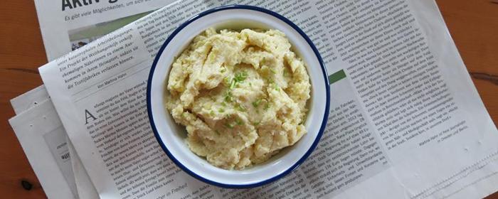 Brotaufstrich des Monats Dezember: Kartoffel-Meerrettich-Aufstrich