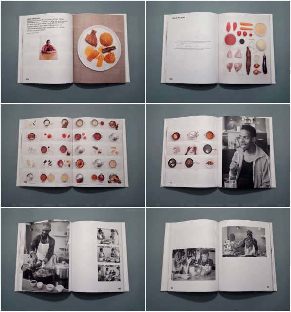 Innenseiten des Kochbuchs Look + Cook