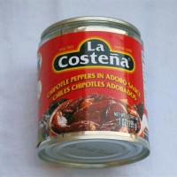 Chipotle-Chilis in der Dose