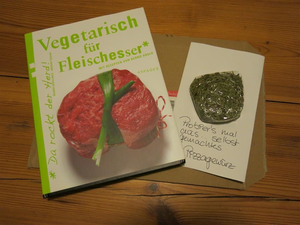 """Kochbuch """"Vegetarisch für Fleischesser"""""""