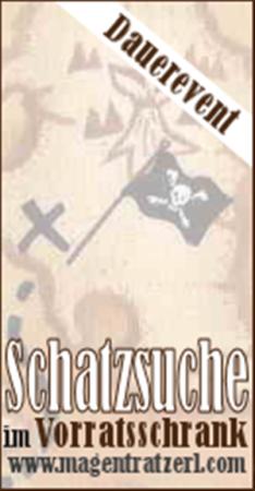 Banner Schatzsuche im Vorratsschrank