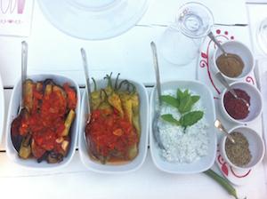 Eine Auswahl türkischer Meze