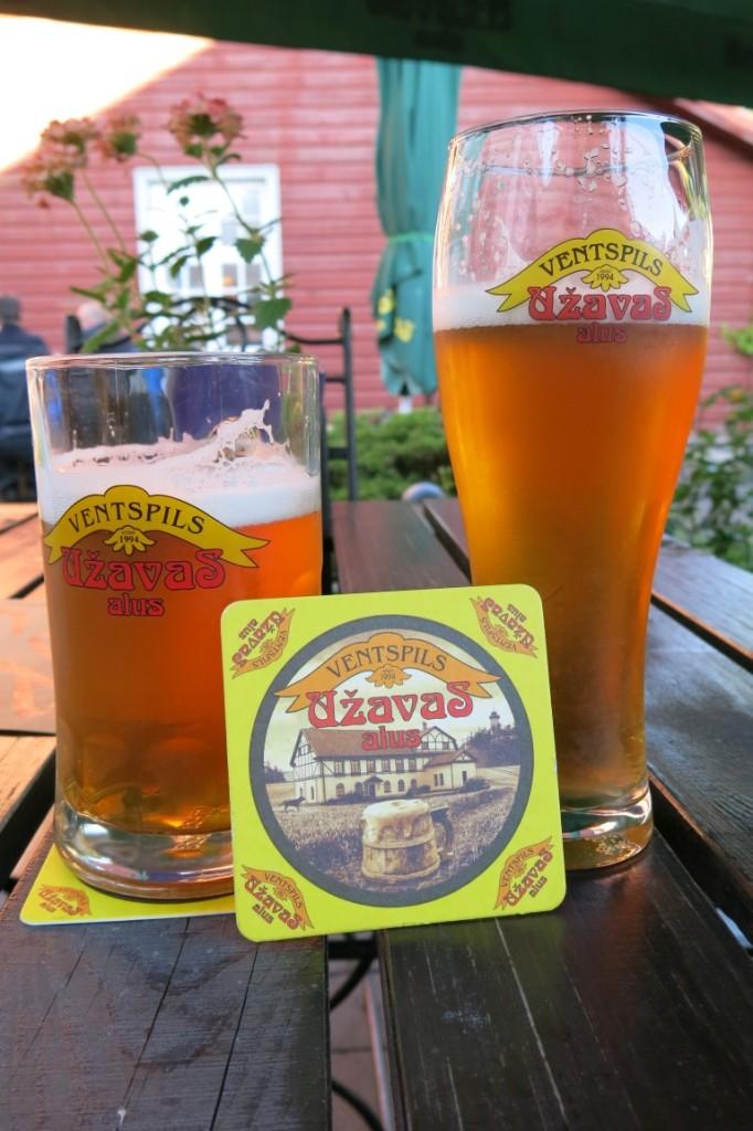Uzavas-Bier aus Ventspils