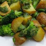 Einmal reinlegen, bitte: Grüner Kartoffelsalat