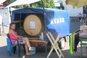 Mobiles Kvass-Fass