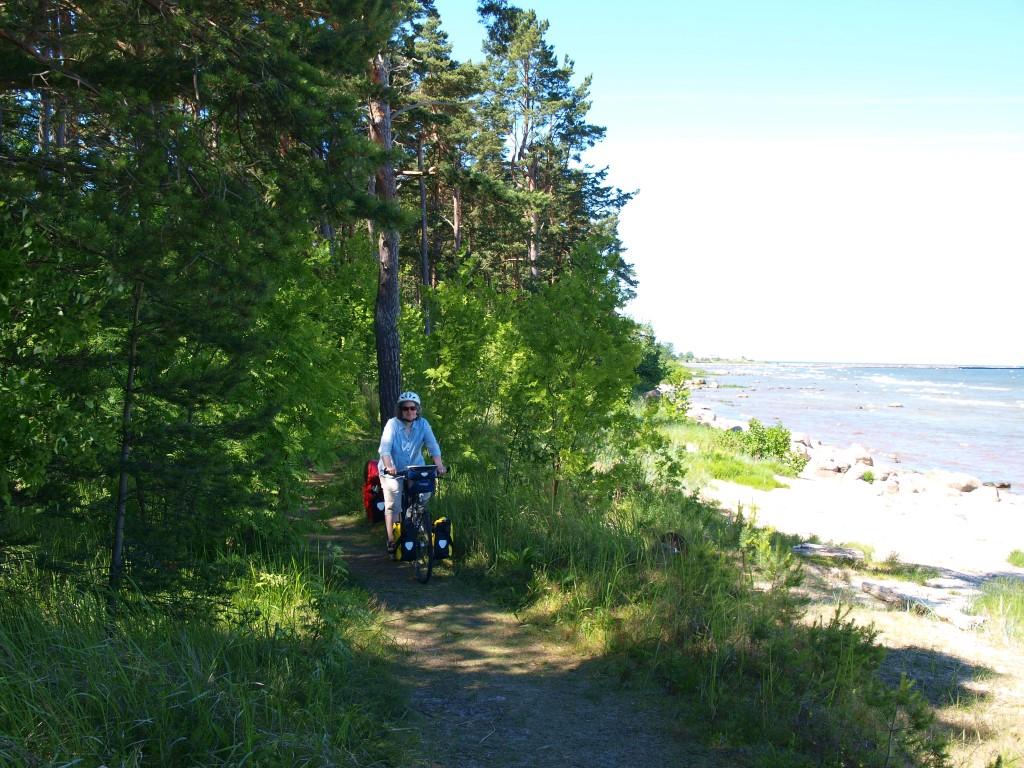 Radeln an der lettischen Ostseeküste