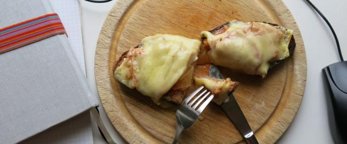 Das Kimchi und der Käsetoast