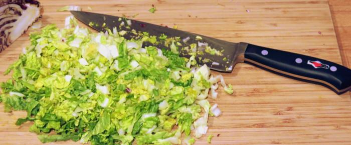 Einmal gemischtes Gehacktes, bitte! Chopped Salad