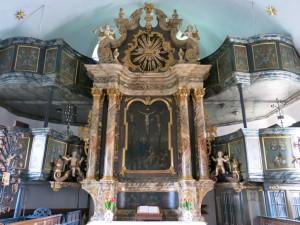 Altar St. Nicolai Altengamme