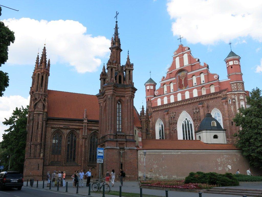 Gotisches Ensemble in Vilnius, Litauen