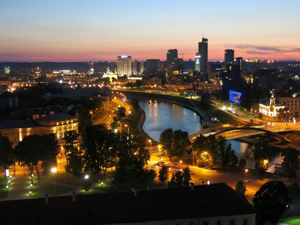 Neustadt von Vilnius, Litauen