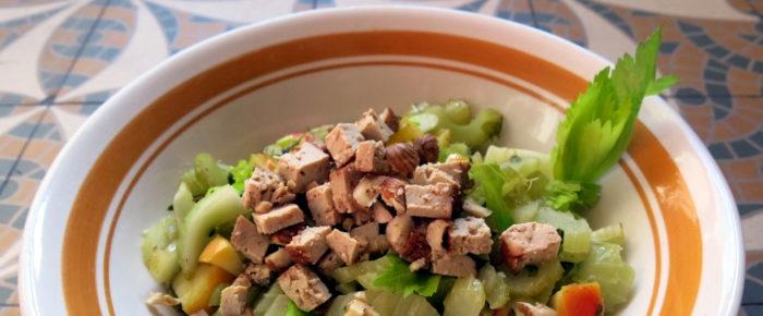 Warmer Waldorfsalat und Grüße aus Marseille