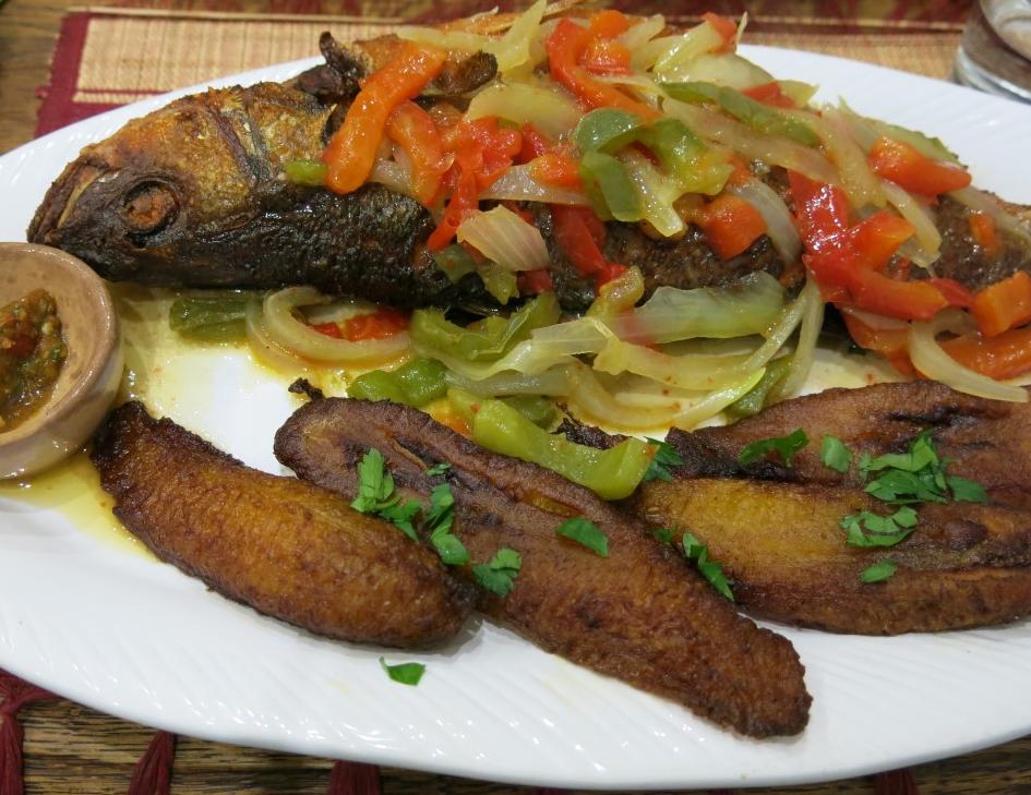 Fisch kongolesisch