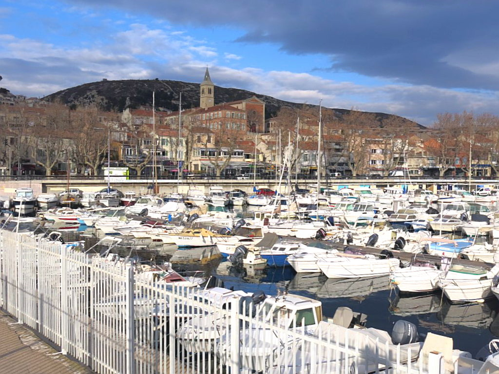Der Yachthafen von L'Estaque