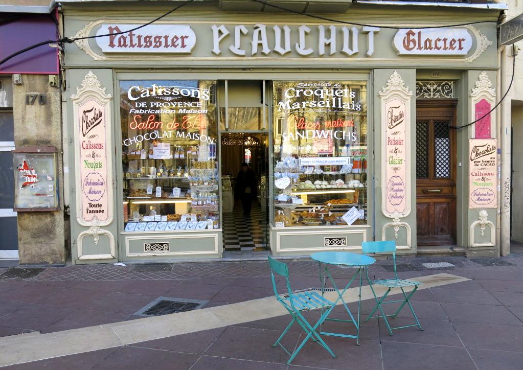 Fassade Café Plauchut