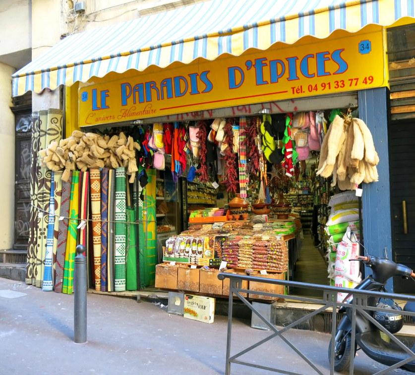 Gewürzladen in der Rue d'Aubagne