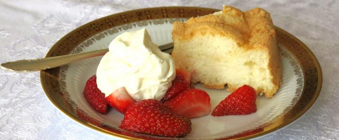 Echt effektive Eiweiß-Resteverwertung: Angel Food Cake
