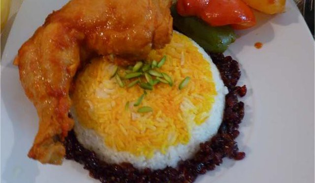 Zimthähnchen mit Reis