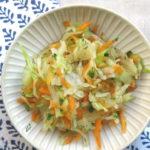 Probiotischer Krautsalat, oder: Selbst gemachtes Sauerkraut