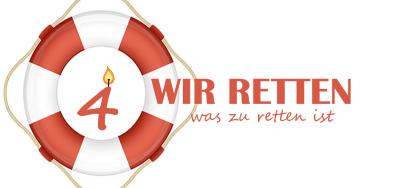 Logo Geburtstag Rettungstruppe