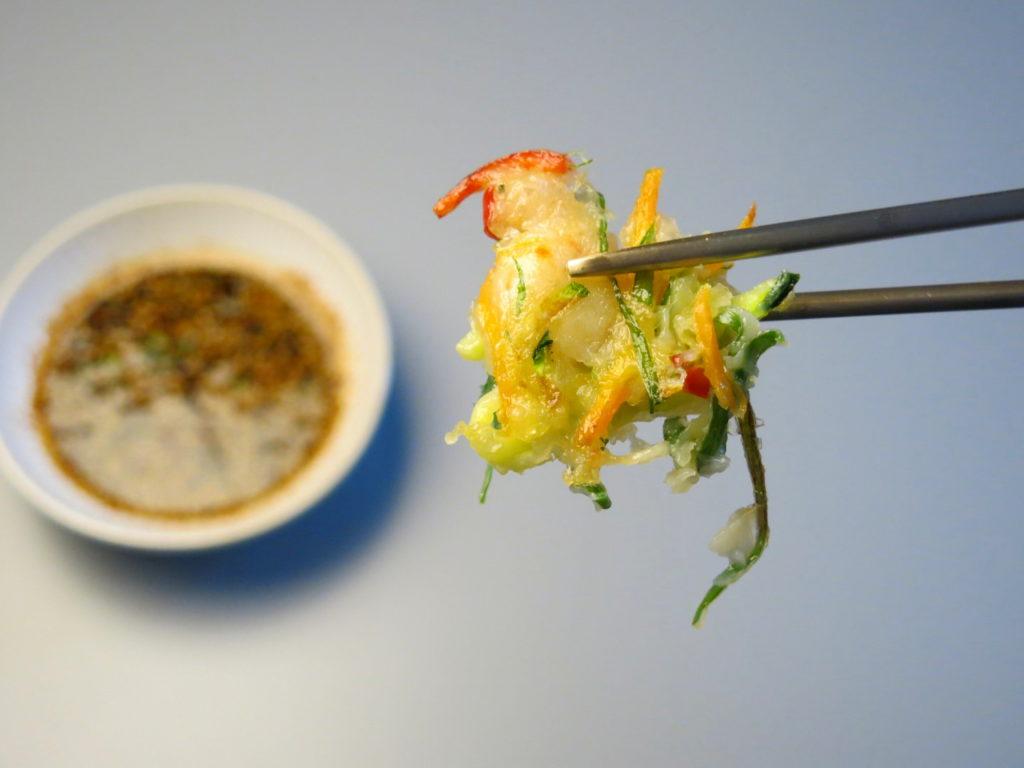 Koreanische Pfannkuchen Haemul Pajeon