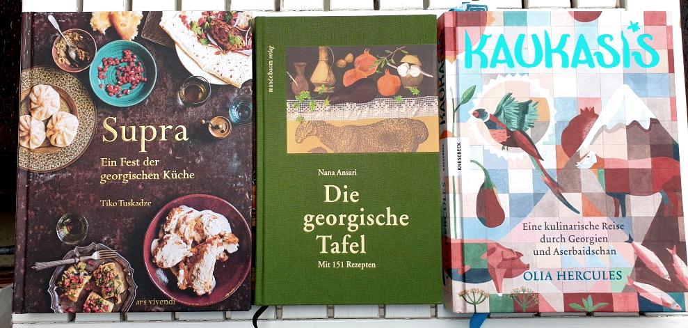 Drei georgische Kochbücher